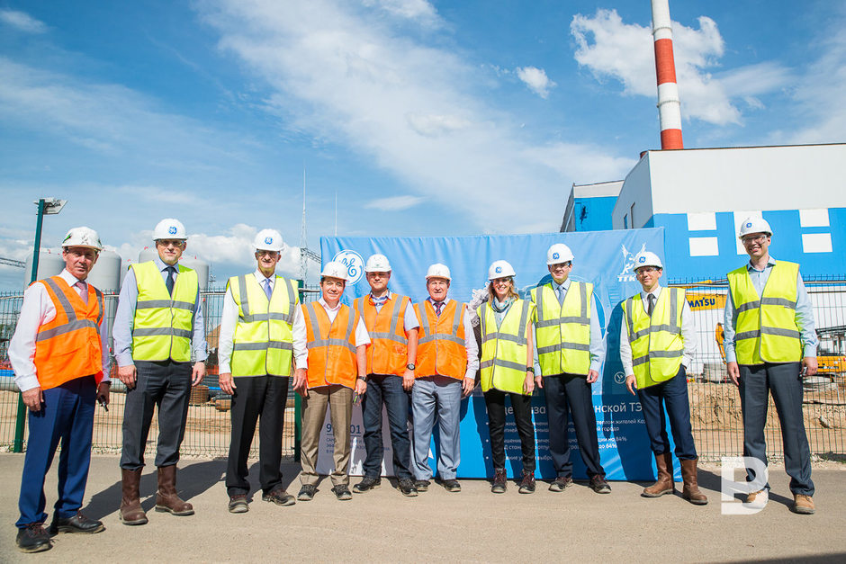 GE's delegation acquaints with the course of works