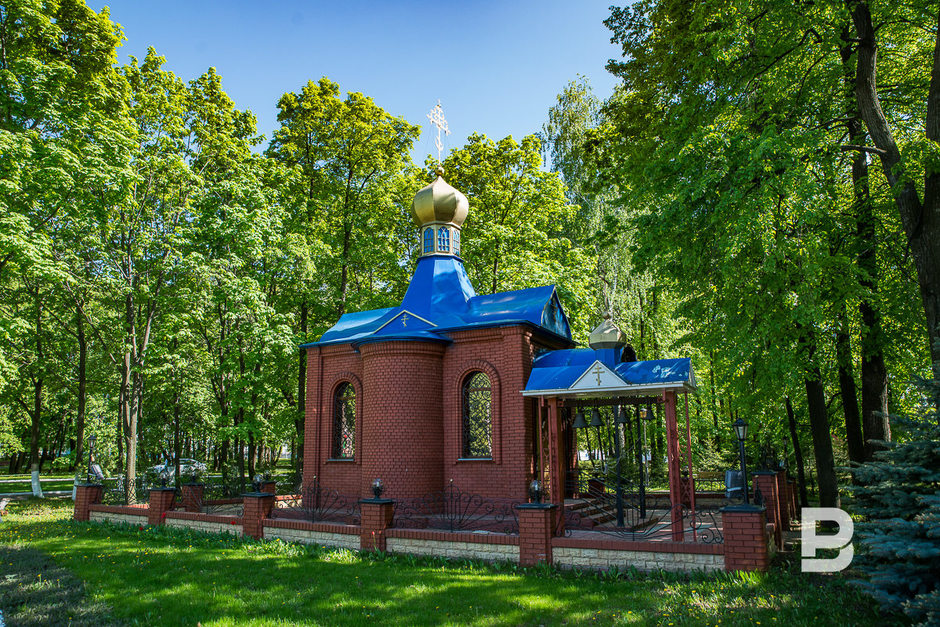 Orthodox Chapel named after Saint Vasily the Great near the plant. It was built on voluntary donations