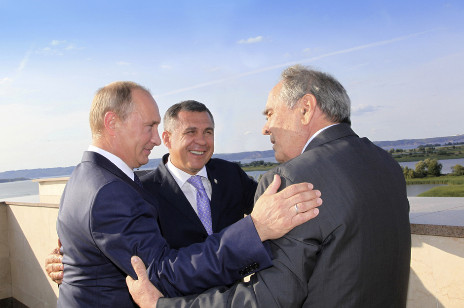 Three Presidents, August 2012