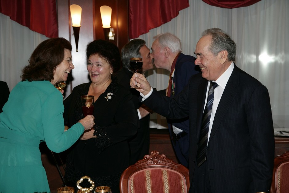 Fikryat Tabeyev's 80th birthday, 4 March 2008