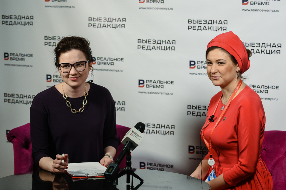 Director of Tatarstan Investment Development Agency Taliya Minullina