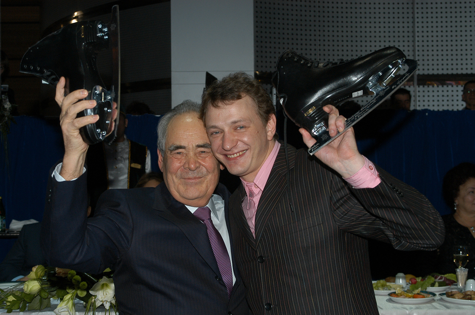Celebration of the 70th birthday with the actor Marat Basharov, 2007